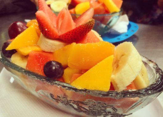 Desayuno con frutas