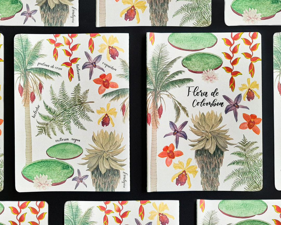 Cuaderno de flora de Colombia