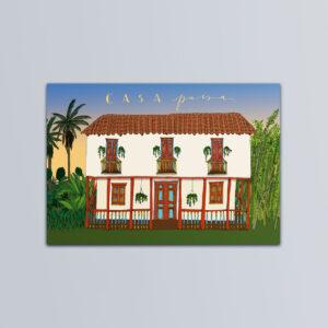 Postal casa paisa