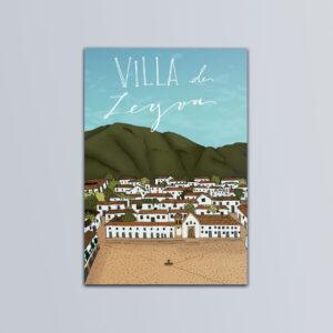 Postal Villa de Leyva
