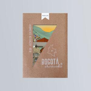 Paquete de 5 postales de Medellín